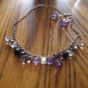 Lia Sophia Necklace/Earring Set